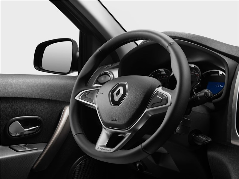 Renault Logan Stepway 2018 руль