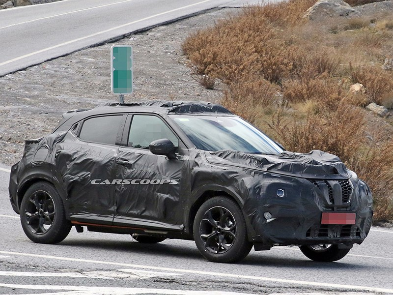 Шпионы «поймали» новый Nissan Juke