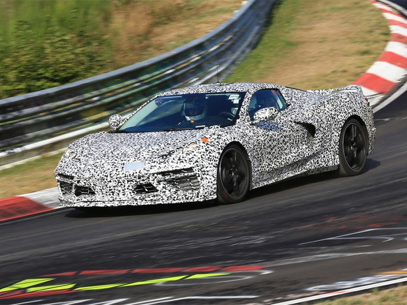 Chevrolet опубликовал «исторический» тизер нового Corvette Фото Авто Коломна