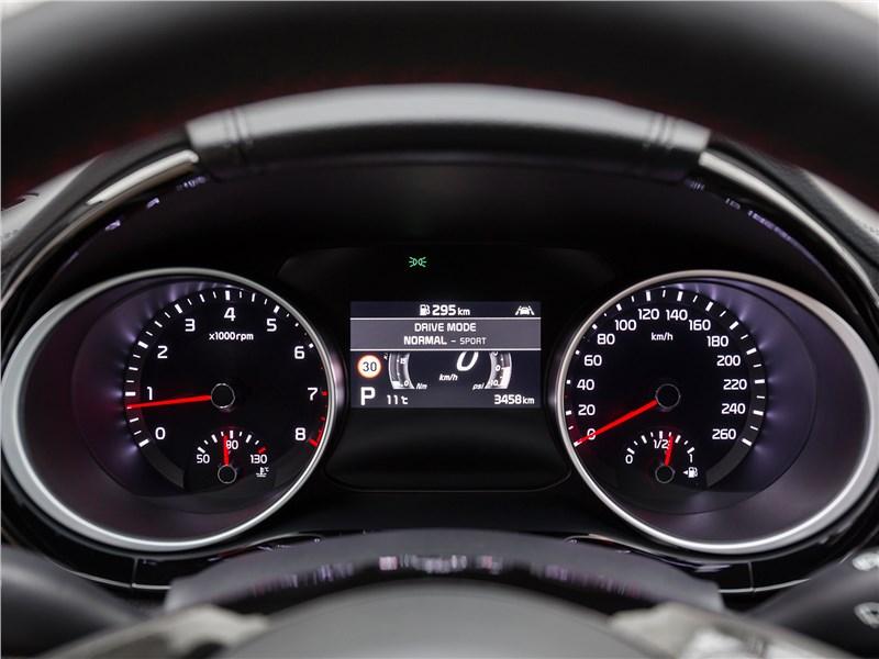 Kia ProCeed 2019 приборная панель