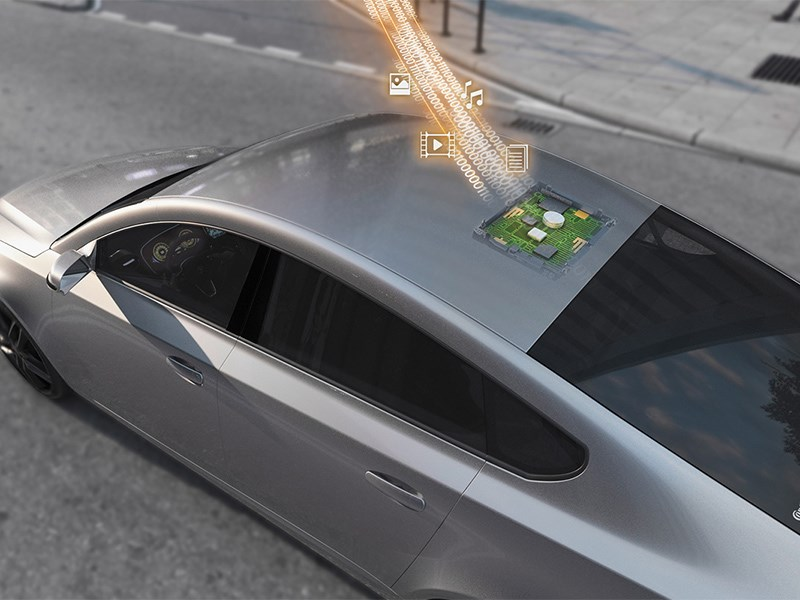 Bosch свяжет автомобиль с блокчейном