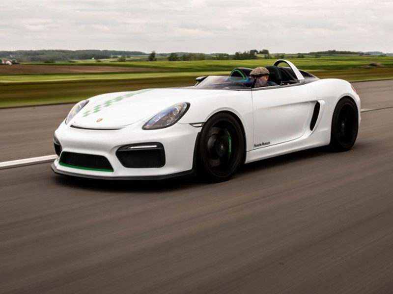 Одноместный Porsche не пойдет в серию