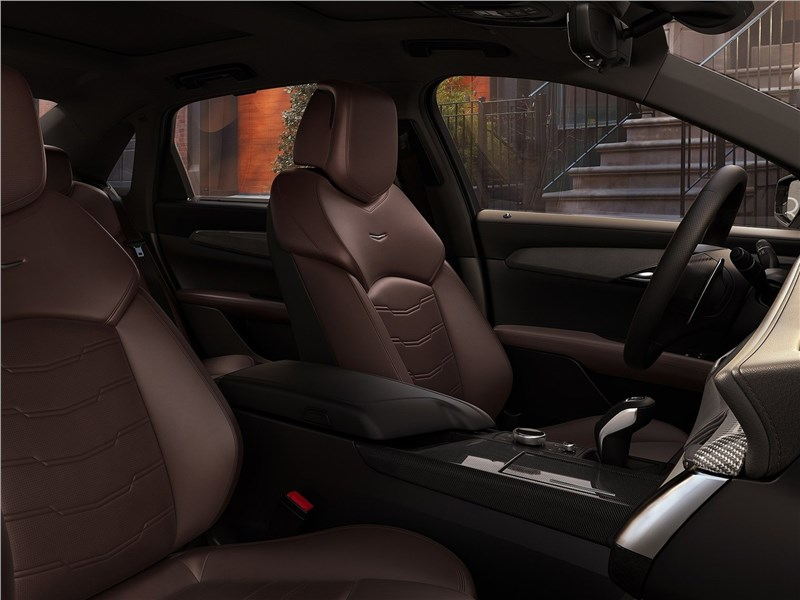 Cadillac CT6 2019 салон