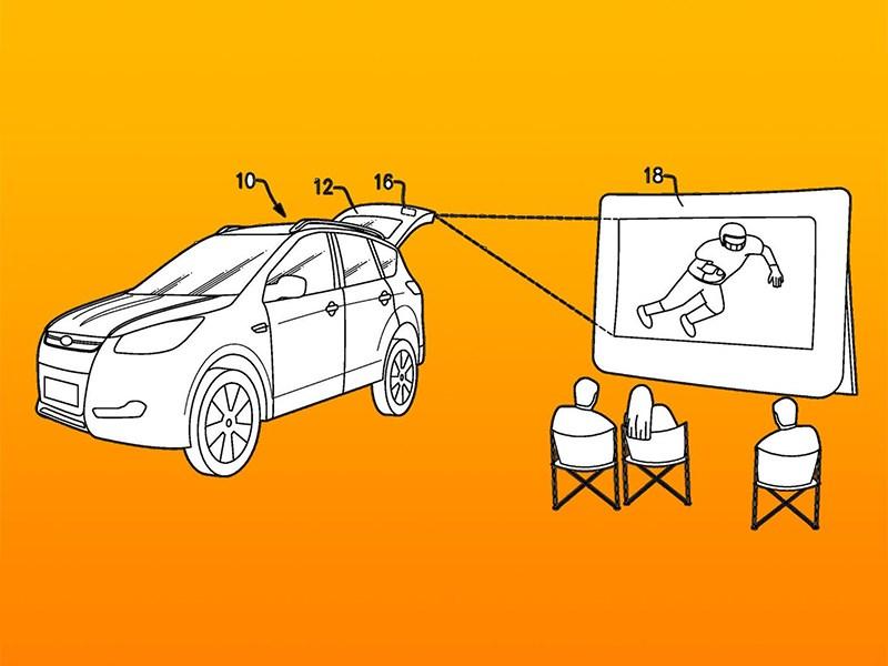 Новый Ford: автомобиль и проектор Фото Авто Коломна