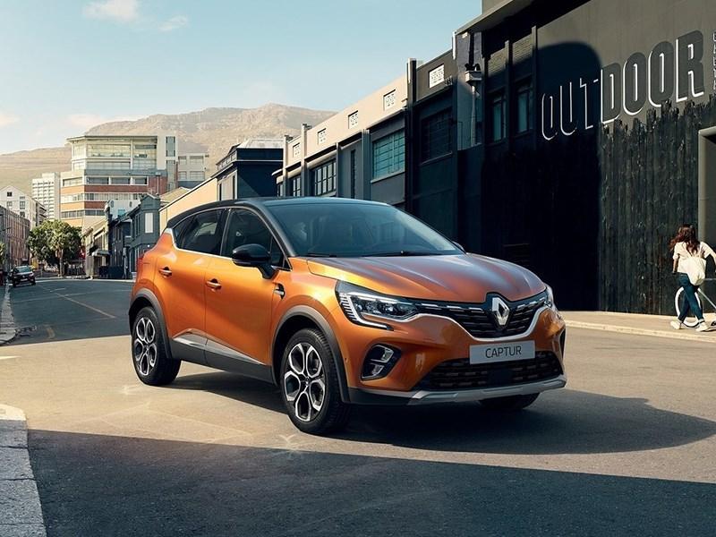 Renault Captur станет гибридом