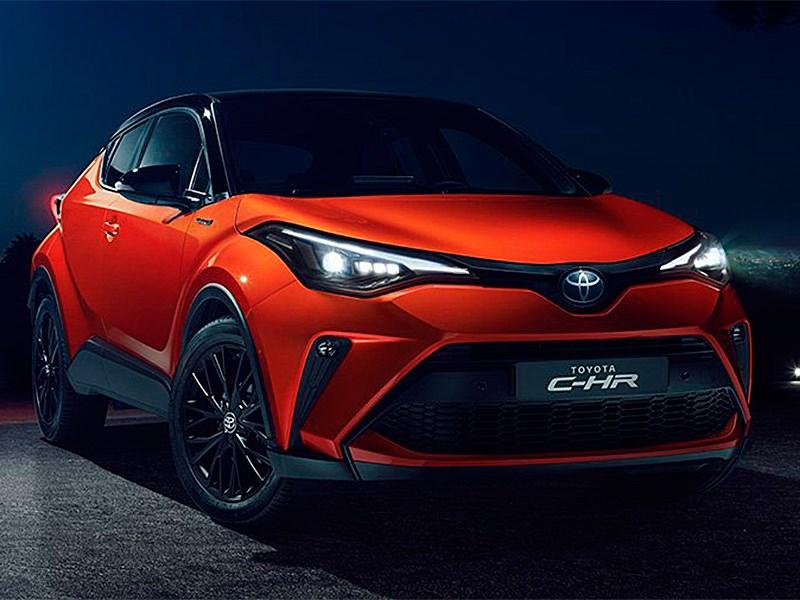 Toyota обновила модель C HR Фото Авто Коломна