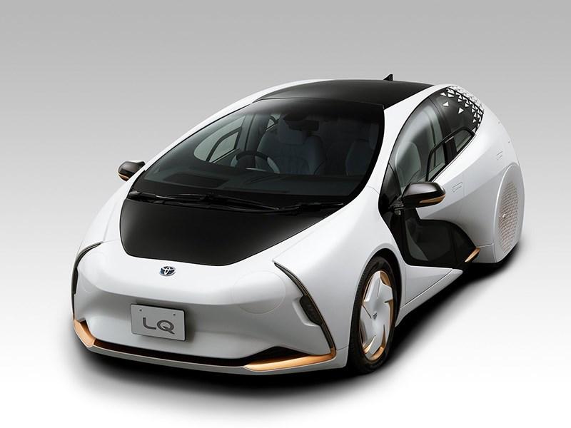Toyota представила интеллектуальный концепт LQ