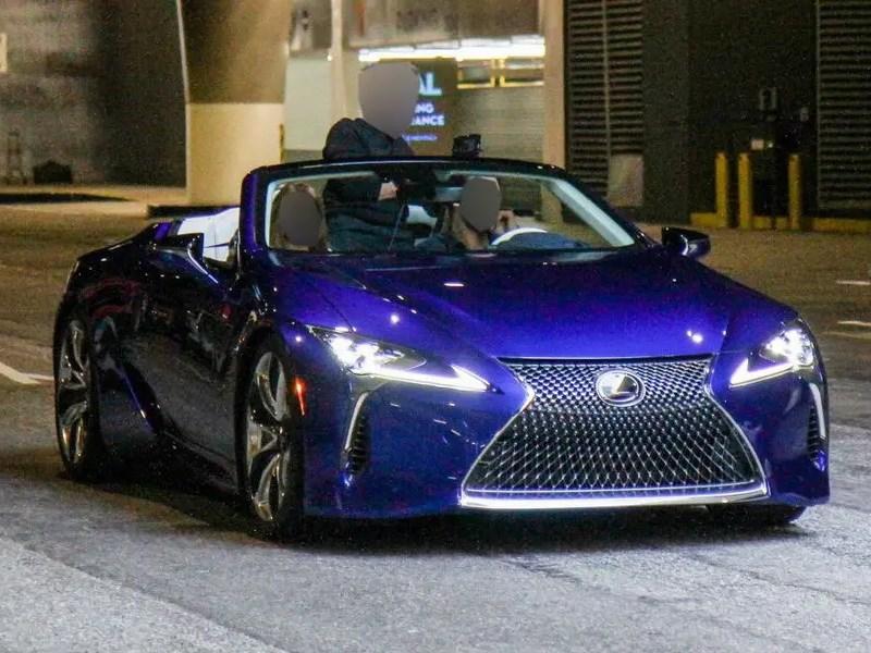 Раскрыта внешность серийного кабриолета Lexus LC