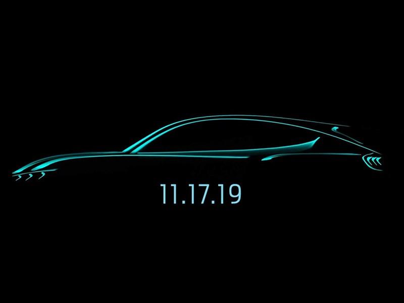 Электрический кроссовер Mustang: объявлена дата презентации Фото Авто Коломна