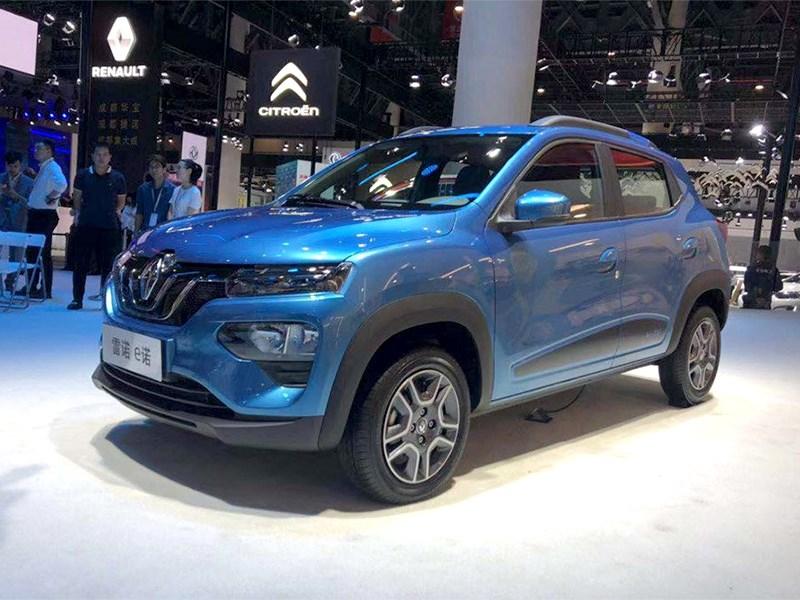 Renault везет в Европу бюджетный электрокар Фото Авто Коломна