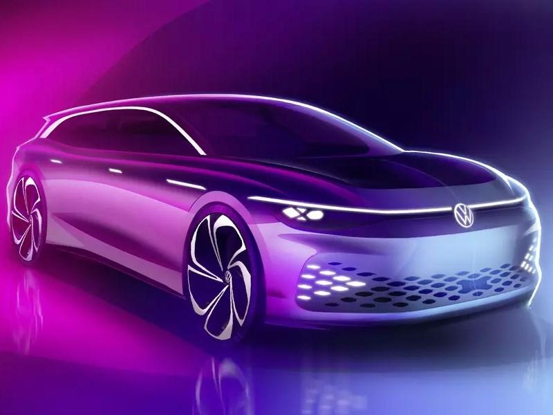 Volkswagen запустит в серию электрический универсал