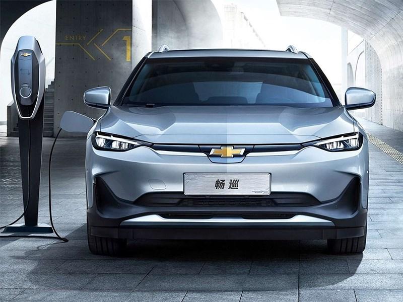 Chevrolet показала новый электрический универсал Фото Авто Коломна
