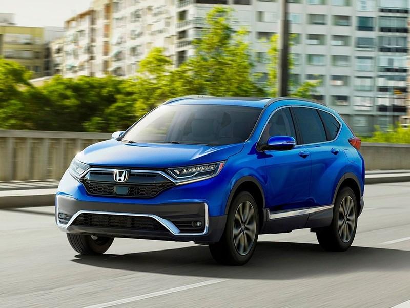 Обновленный Honda CR-V приедет в Россию