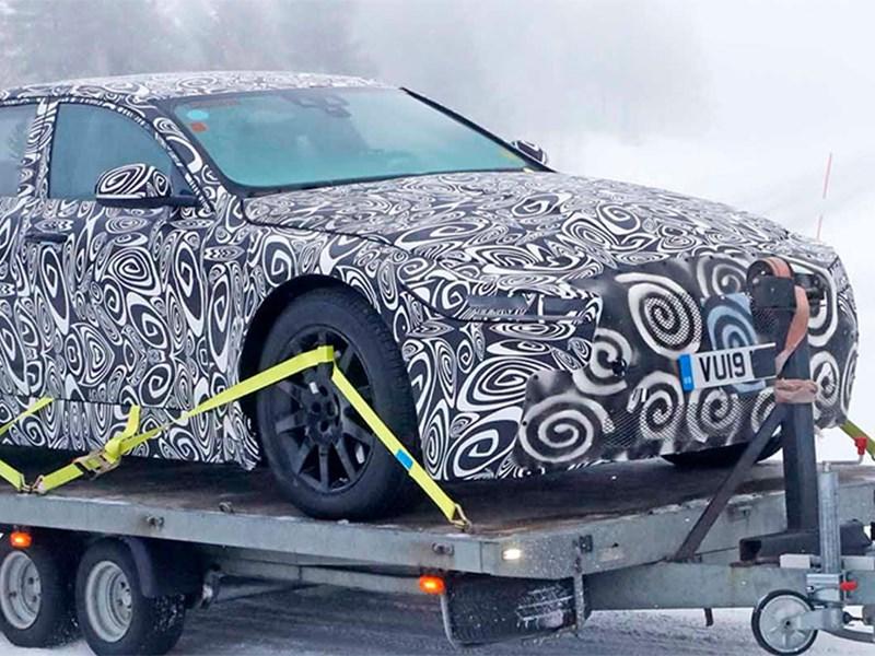 Jaguar приступил к тестам нового XJ Фото Авто Коломна