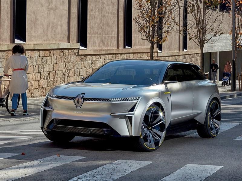 В Renault представили автомобиль-трансформер