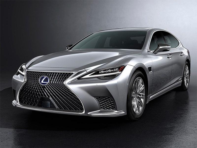 Lexus показал обновленный седан LS
