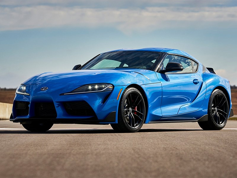 Toyota выпустит спецверсию Supra с 510-сильным мотором BMW