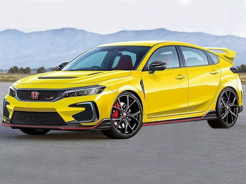 Новый Honda Civic Type R станет трехмоторным