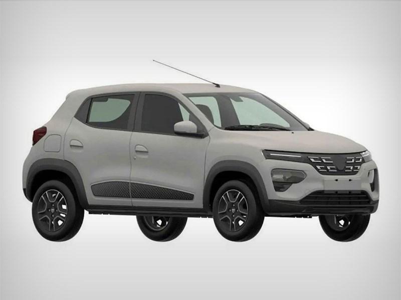 Рассекречена серийная версия очень дешёвого электрокара от Renault