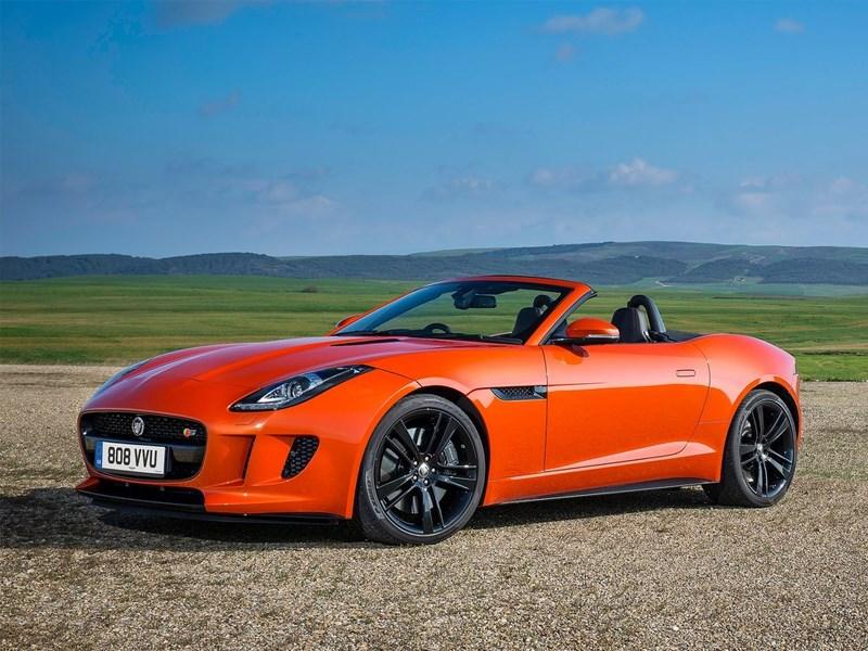 Родстер Jaguar F-type: рублевые цены