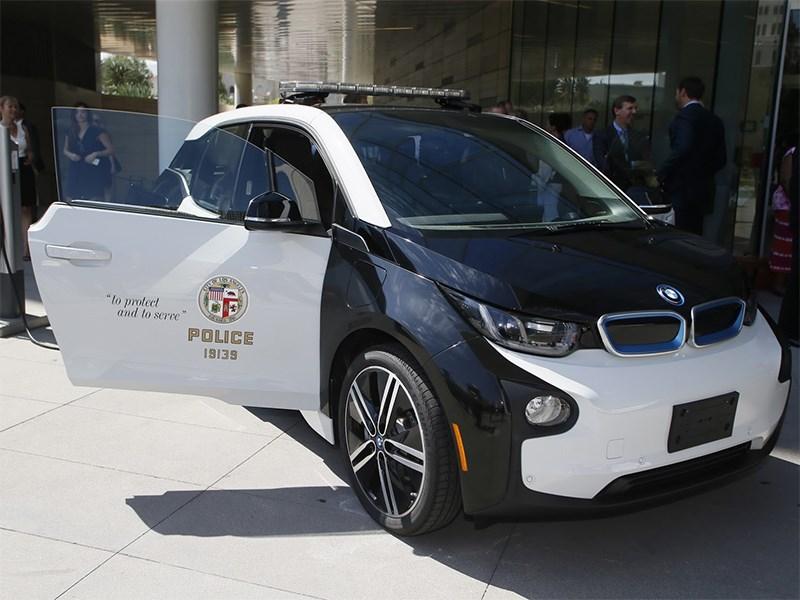 Американская полиция отказывается от экологических BMW