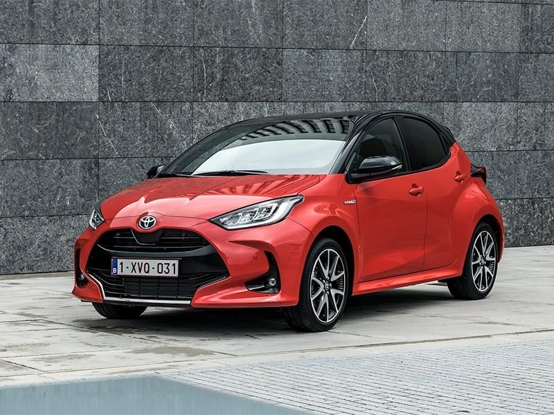Новый Toyota Yaris запатентован в России