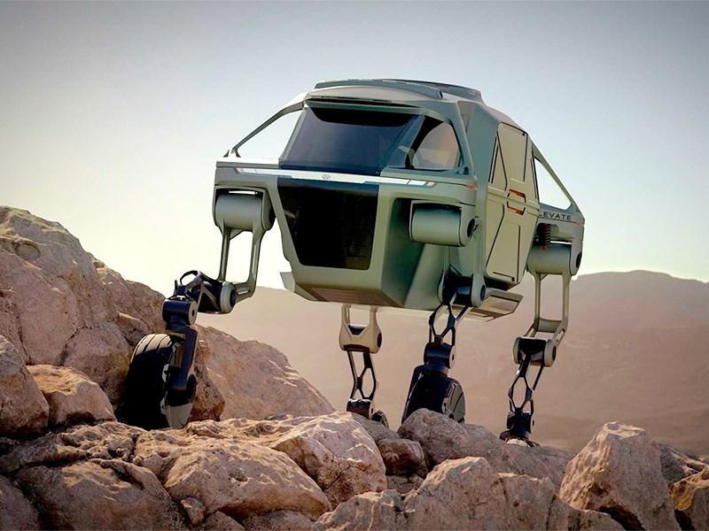Hyundai создаст подразделение для разработки шагающих автомобилей