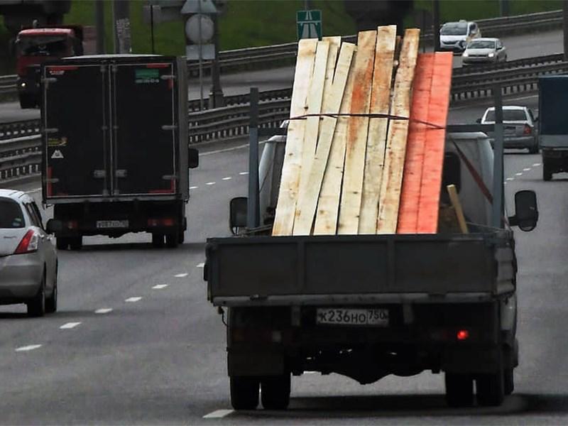 В Москве запретят «грязные» грузовики