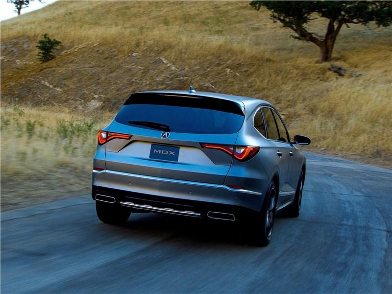 Acura MDX Concept (2020) вид сзади