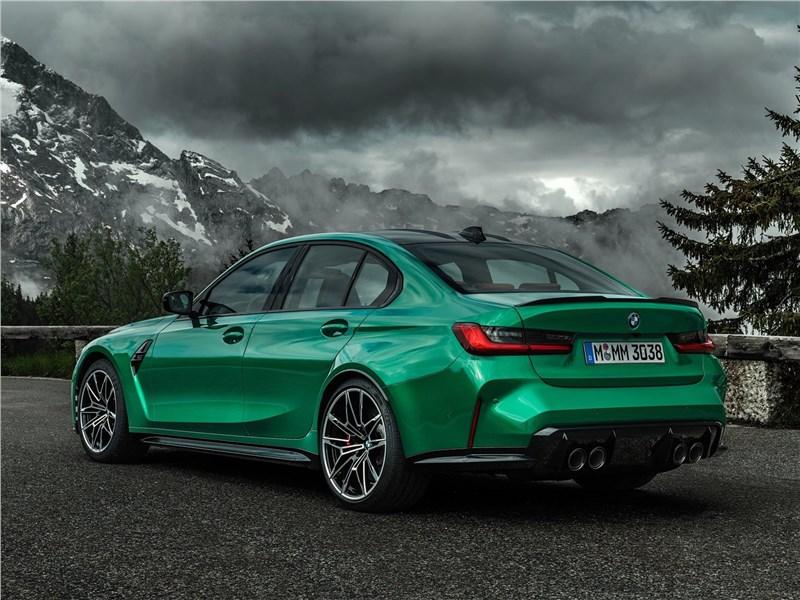 BMW M3 прокачали в ателье Manhart