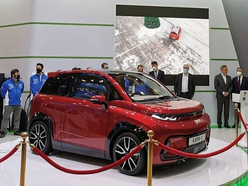 КАМАЗ официально представил свой первый электромобиль