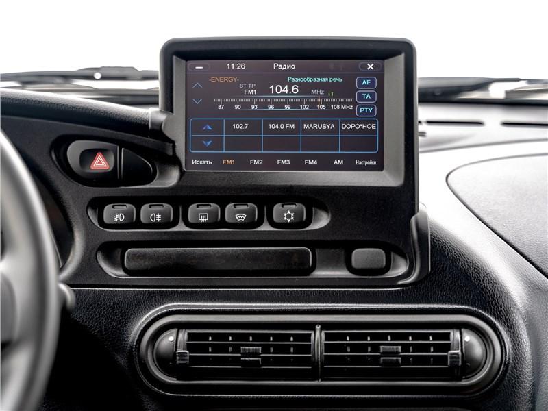Lada Niva Travel (2021) центральная консоль