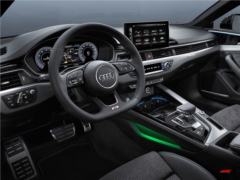 Audi A5 (2020) салон