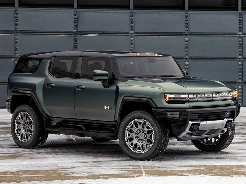 В GMC показали обновленный Hummer
