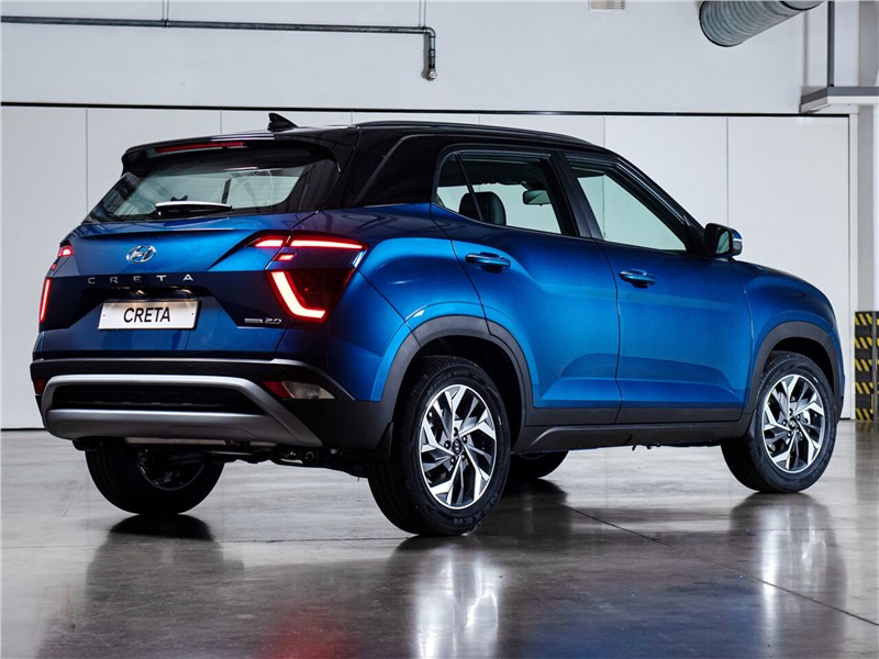 Hyundai Creta (2020) вид спередиHyundai Creta (2020) вид сзади