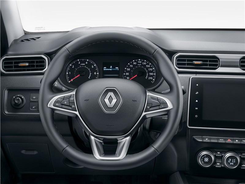 Renault Duster (2021) салон