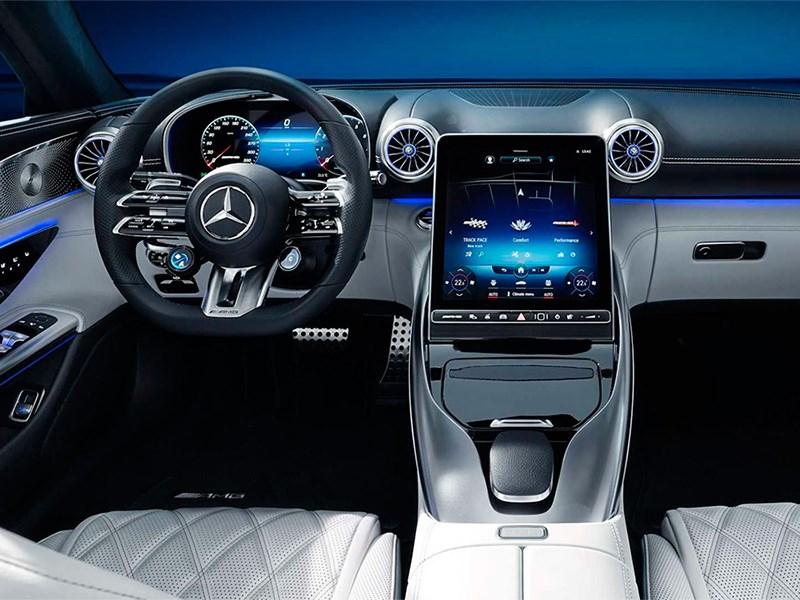 Mercedes-Benz AMG SL рассекречен
