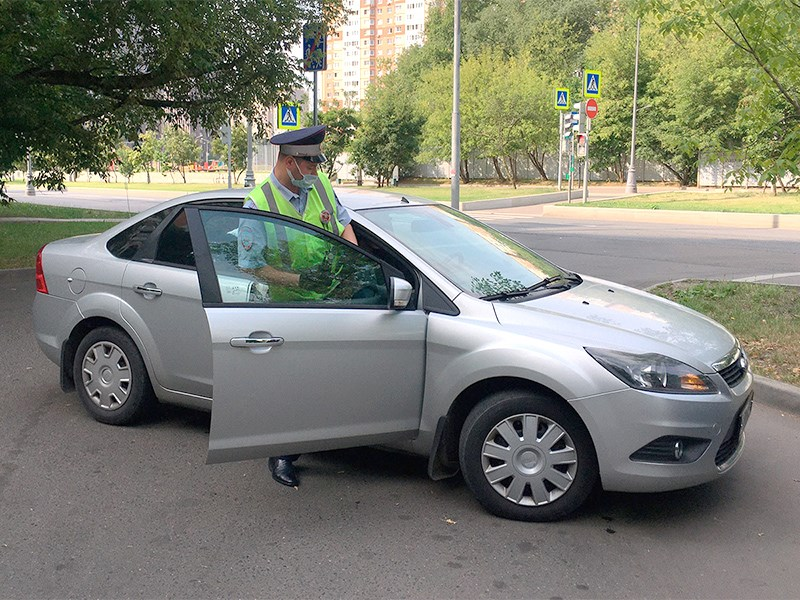 В ГИБДД рассекретили автомобиль секретного патруля