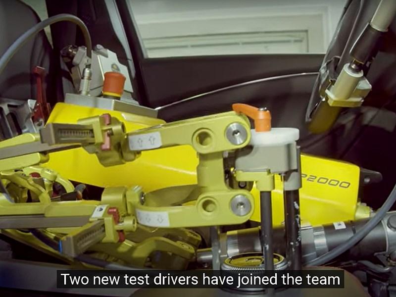 Ford заменяет своих тест-пилотов роботами