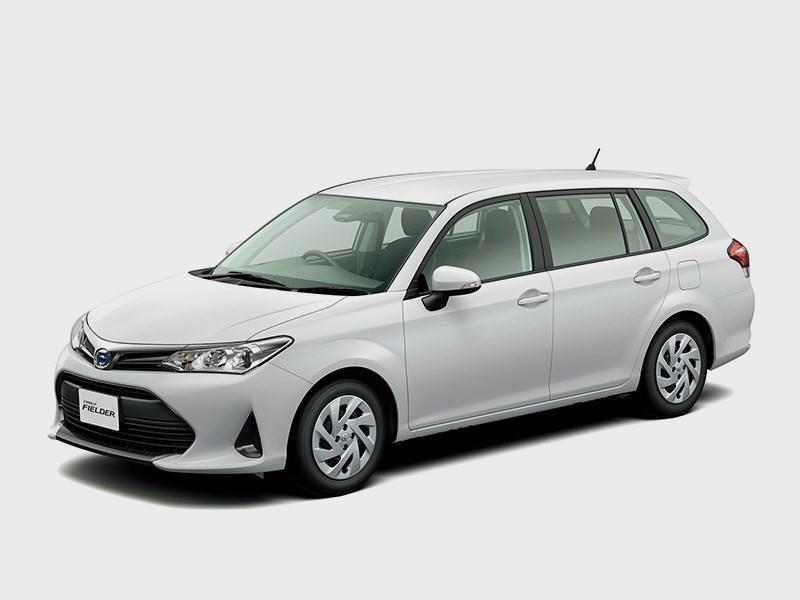 Corolla Fielder и Corolla Axio обновились