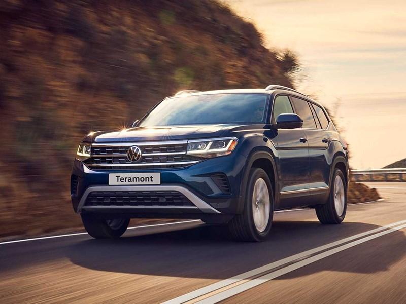 Volkswagen Teramont пережил рестайлинг