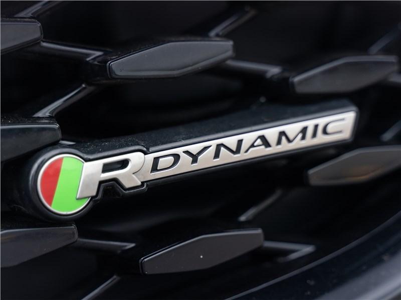 Jaguar F-Pace (2021) шильдик