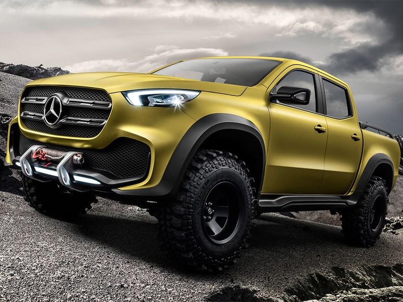 Mercedes-Benz показал первый пикап в свой истории