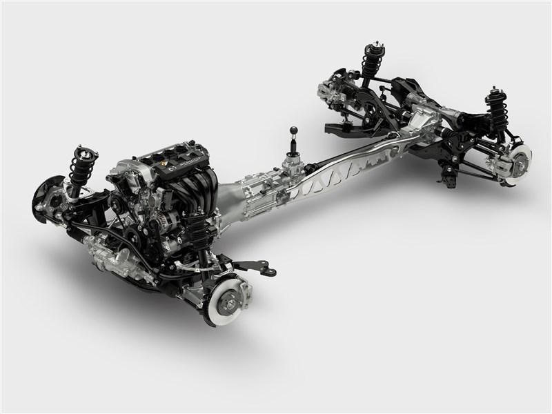 Mazda MX-5 2015 тоннель кардана