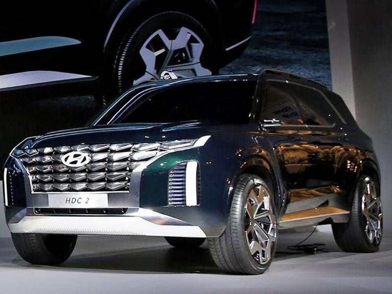 Hyundai показал прототип огромного кроссовера