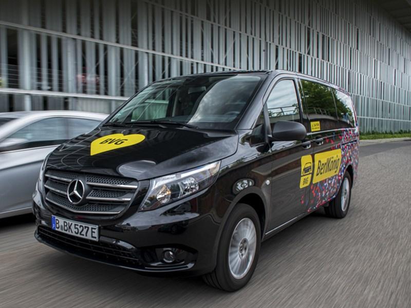 Mercedes выпустил новый электрический минивэн Фото Авто Коломна