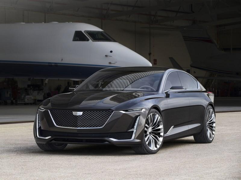 Cadillac представил новый концепт-кар Escala