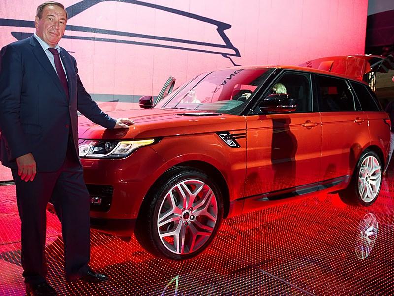 В Москве прошла презентация алюминиевого внедорожника Range Rover Sport