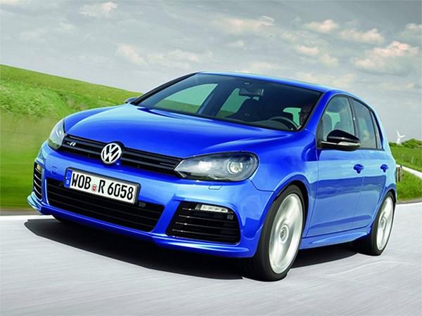 Volkswagen привезет во Франкфурт «заряженный» Golf R нового поколения