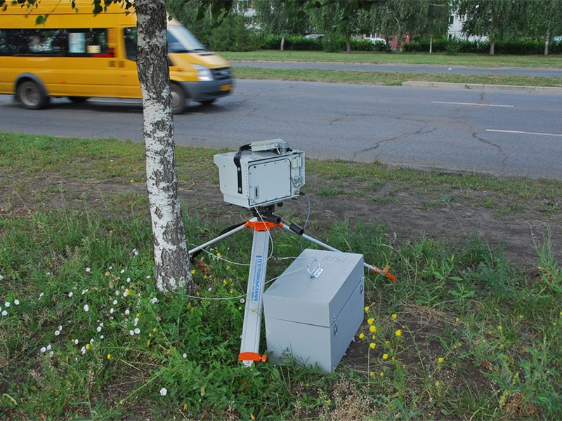 На российских дорогах появятся камеры, фиксирующие скорость на участке пути